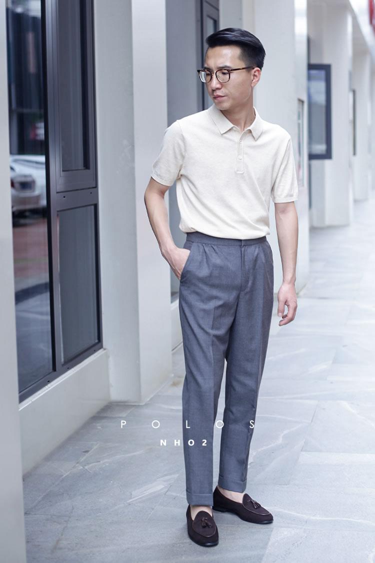 NHO2男装定制, Tshirt & 冰丝针织POLO衫