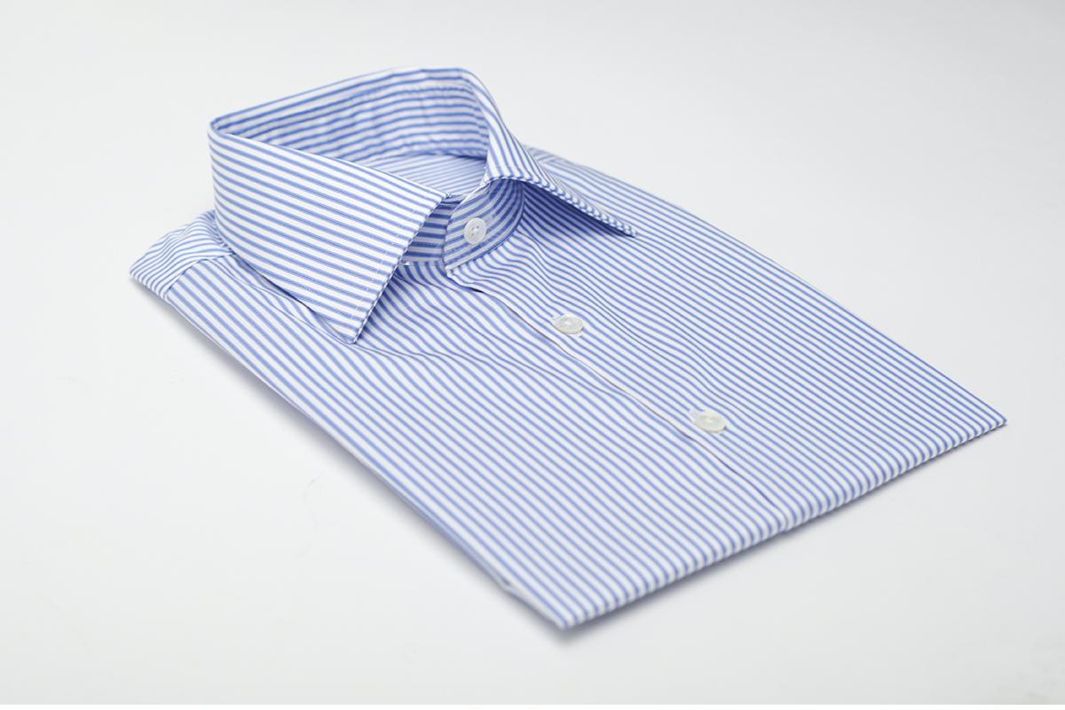 NHO2定制秋冬羊毛混纺暗红条纹衬衫