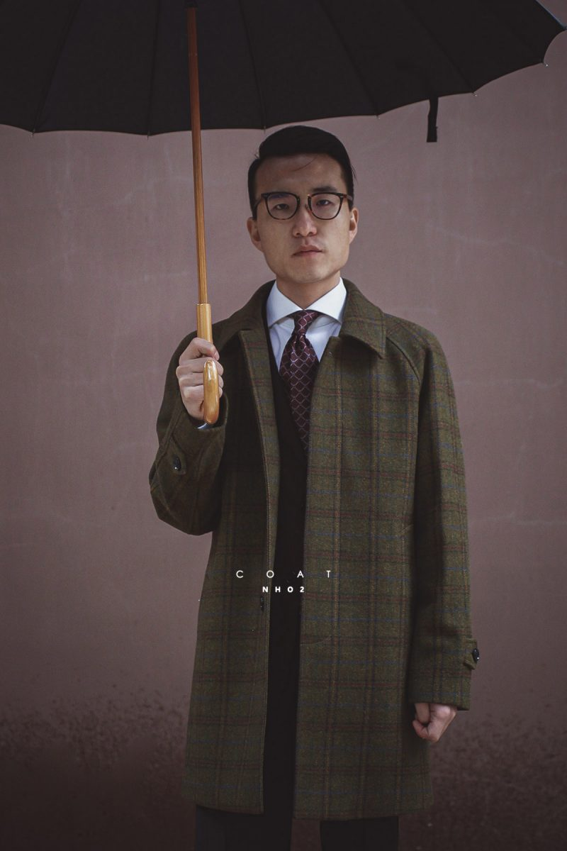 NHO2定制巴尔马肯大衣