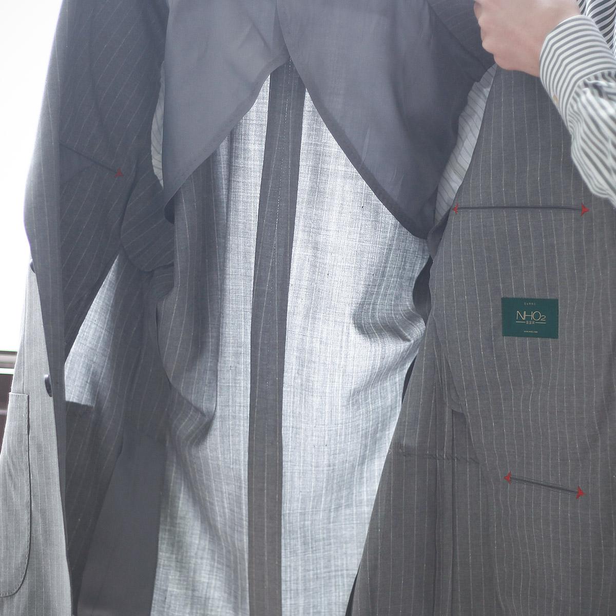 nho2定制夏季冠贝罗面料西装