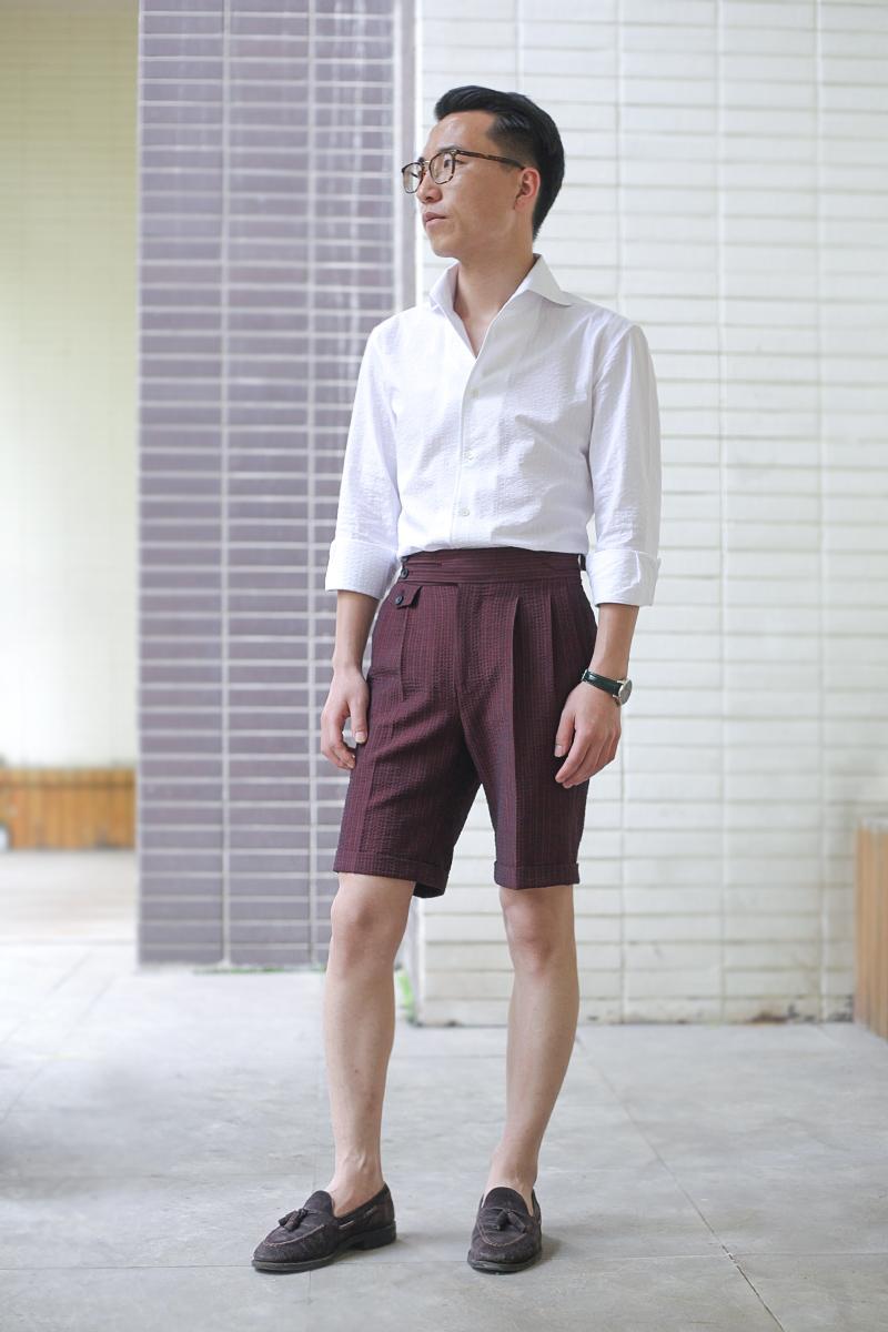 搭配.廓尔格短裤